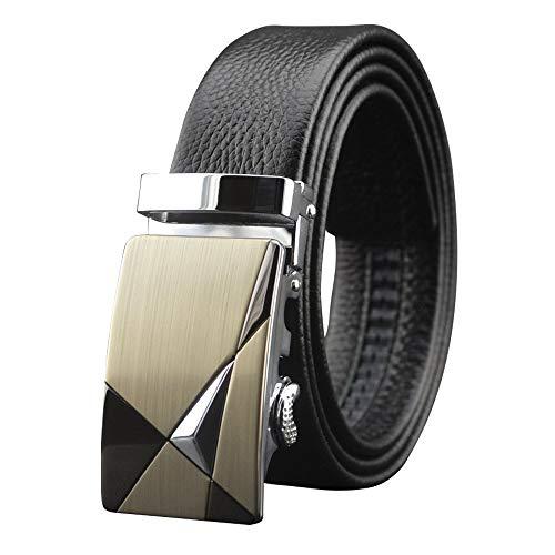 BOLAWOO-77 Cuero De Vaca Capa Para Hombre Primera La Cinturón Mode De Marca Automático Moda Vintage Negocio Cinturón De Cuero Cinturón Cinturón Para Hombres