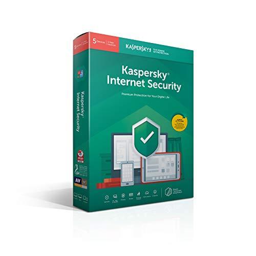 Kaspersky Internet Security | 5 Geräte | 1 Jahr | Deutsch | installierbar in allen europäischen sprachen | Box | 2019|Standard|5 Geräte|1 Jahr|PC/Mac/Android/iOS|Download|Download