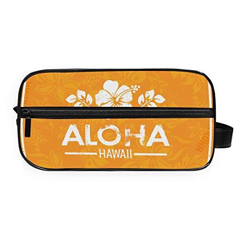 DEZIRO Trousse de toilette rétro Aloha Hawaï étanche pour femme et fille