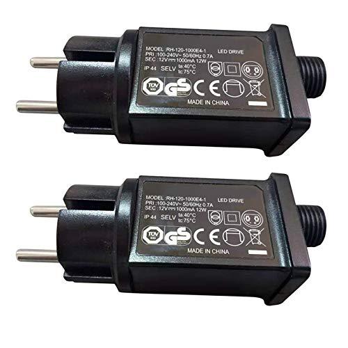 12W LED Trafo-Netzteil IP44 Trafo Transformator Adapter Power Supply 240/12V Trafo Transformator Aussenleuchten