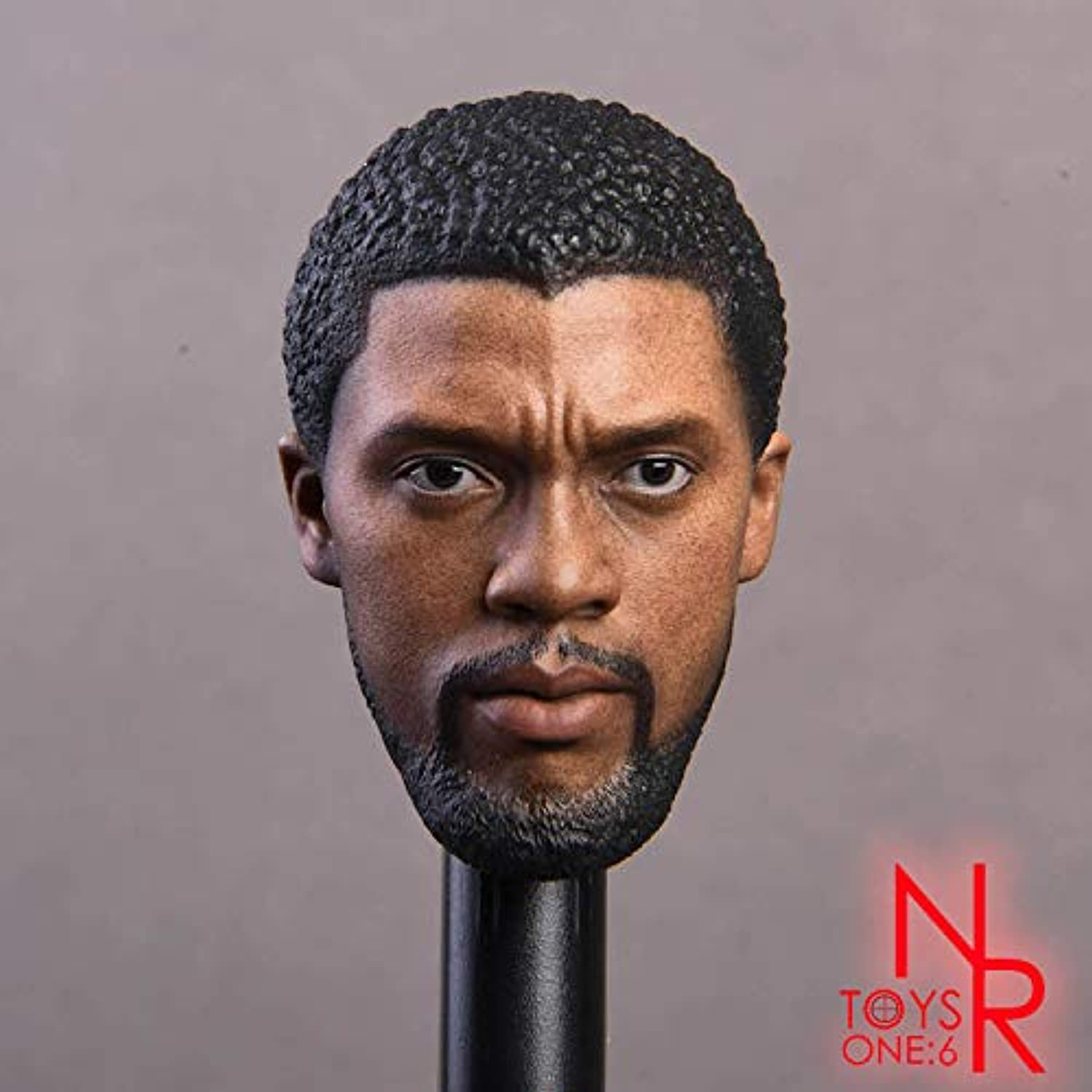 NRTOYS 1 6 Scale Figures Accessory Black Panther Head NR15 Model Toys