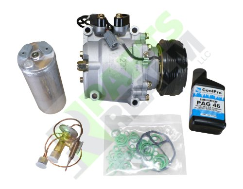 Parts Realm CO-3555AK2 Complete A/C Compressor Replacement Kit