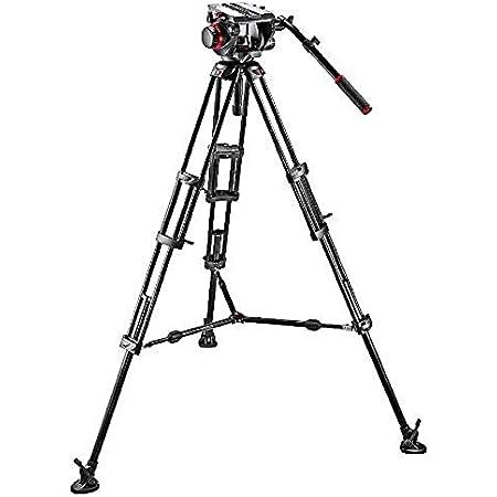 Manfrotto 545b Video Tripod Set With 509hd Tilt Head Camera Photo