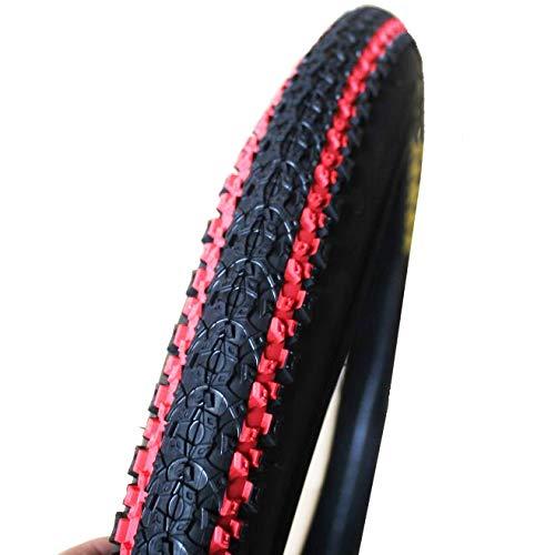 LMIAOM K1187 26 * 1.95 Bunte Fahrrad-Reifen Mountainbike-Reifen Reparaturwerkzeug für Zubehörteile (Color : Blue)