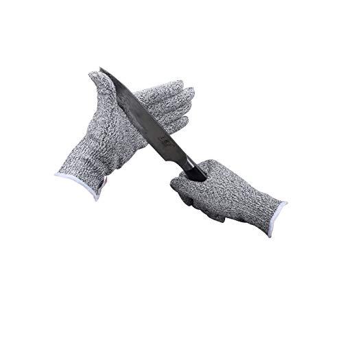 guanti antiscivolo Touch screen 2 coppie Guanti Antitaglio,InnoBeta guanti di sicurezza da lavoro guanti da cucina resistenti al taglio Protezione di Livello 5 ad Alte Prestazioni L