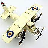 DynaSun Art Vintage - Modelo de avión de metal, colección 1:54 (16 cm)