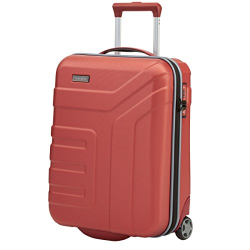 "Travelite Valise trolley ""Vector\"" avec 2 roues rouge Koffer, 73 cm, 110 liters, Rot (Rouge)"