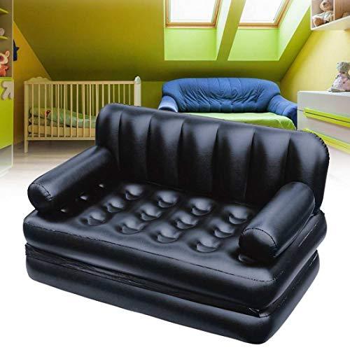 Outdoor-aufblasbare Multifunktions-Garten-Sofa-Lounge doppelt aufblasbares Bett Camping im Freien Matratze