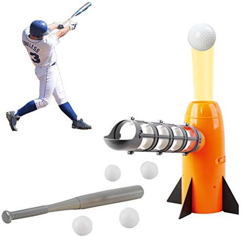Ourine Electronic Baseball Pitching Machine – Height Adjustable – Ball...