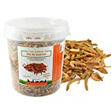 FINCA CASAREJO Mix de Insectos Secos. Alimento deshidratado para gallinas, Pavos, faisanes y Otras Aves de Corral (180)