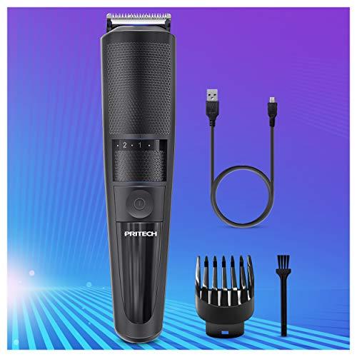 Cortapelos eléctrico sin cable, cortadora de barba para hombres profesional de peluquería,...