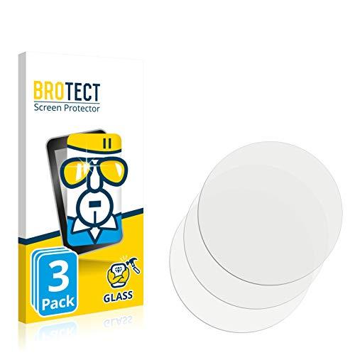 BROTECT Panzerglas kompatibel mit LG Watch Urbane 2nd Edition (3 Stück) 9H Echtglas Schutzfolie