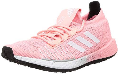 Adidas PULSEBOOST HD W, Zapatillas Running Mujer, Rosa Glory Pink FTWR White Dash Grey, 38 EU