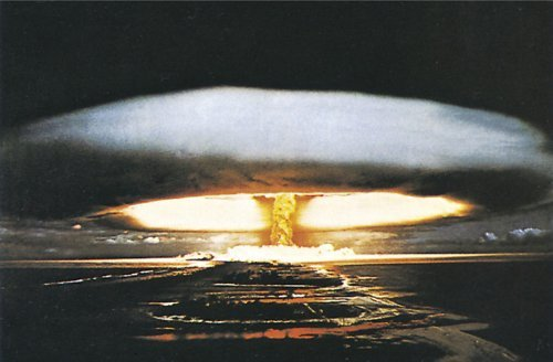 Studio B ?Hydrogen Bomb Poster by Studio B