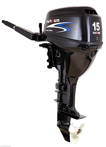Parsun Außenborder F15 BWS: 15 PS Kurzschaft mit E-Start, Bootsmotor, Außenborder, Flautenschieber
