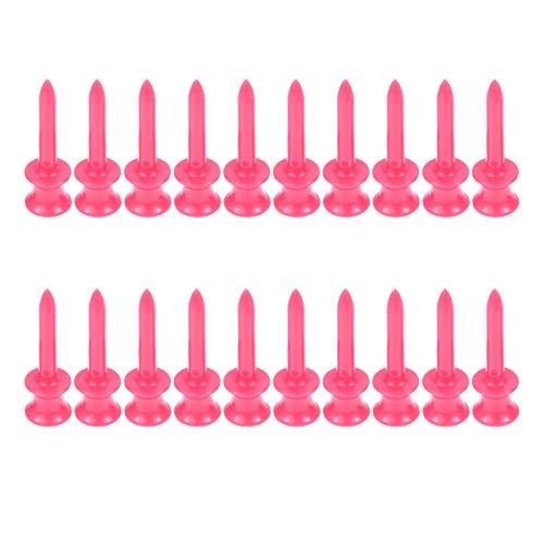 MUXSAM 100 tees de plástico de 41 mm para golf graduado con control de altura