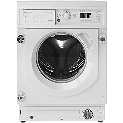 Indesit BIWMIL91484 9kg 1400rpm Integrated Washing Machine - White
