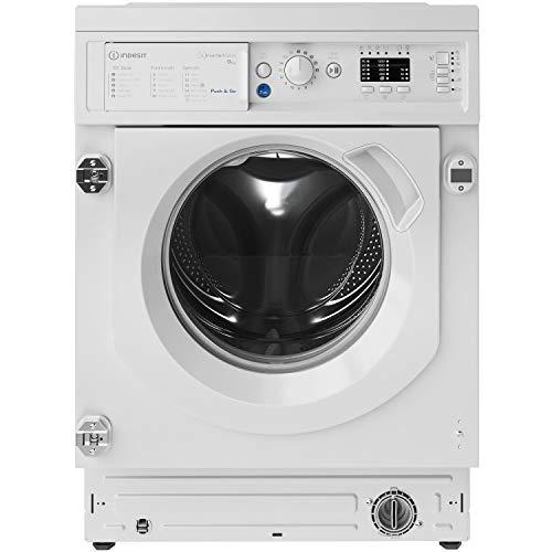 Indesit BIWMIL91484 9kg 1400rpm Integrated Washing Machine - White