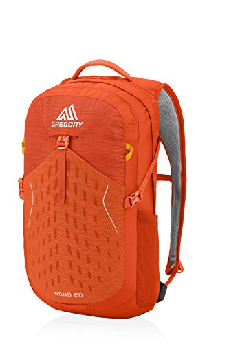 Gregory Mountain Products Men's Nano 20 Everyday Outdoor Backpack,BURNISHED ORANGE