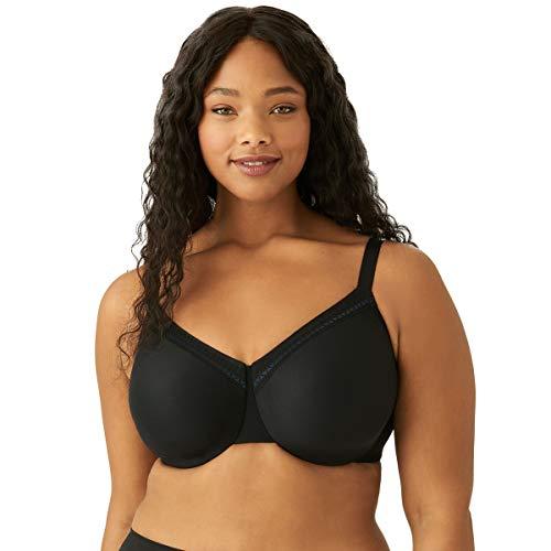 Wacoal Women's Plus Size Perfect Primer Underwire Bra, Black, 46C