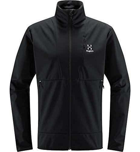 Haglöfs Softshelljacke Herren Multi Flex Jacket wasserabweisend, windabweisend, Stretch True Black XL XL