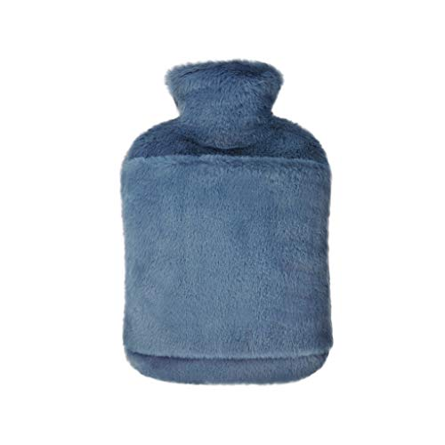 Bolsa de Agua Caliente Grande Regalo más cálido mano linda botella felpa caliente Inyección de agua desmontable agua caliente bolsa de agua caliente compresas for mujeres y niñas Bolsa de Agua Calient