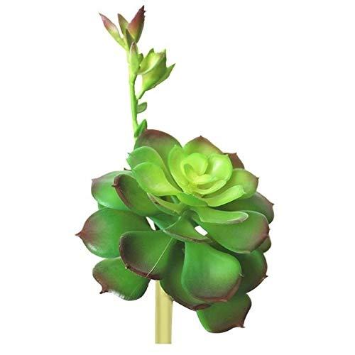 U/D HLIAN Simulación Plantas Falsas Aloe Artificial cacto suculento Paisaje Lotus Flower Faux DIY DIY Creativo Accesorios Decoración del hogar (Color : 2, Size : One Size)