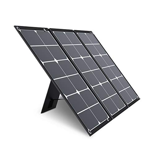 Jackery SolarSaga 60W Solar Panel for Explorer 160/240/500 and HLS290 as Portable Solar Generator,...