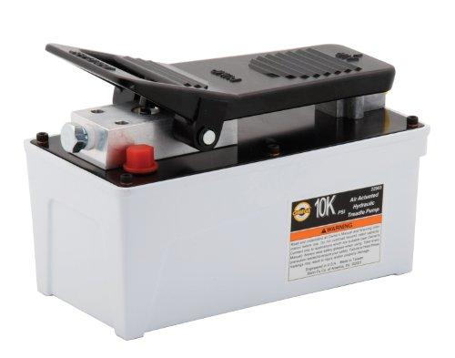 Omega 22903 Black 10000 PSI Air Actuated Hydraulic Treadle Pump