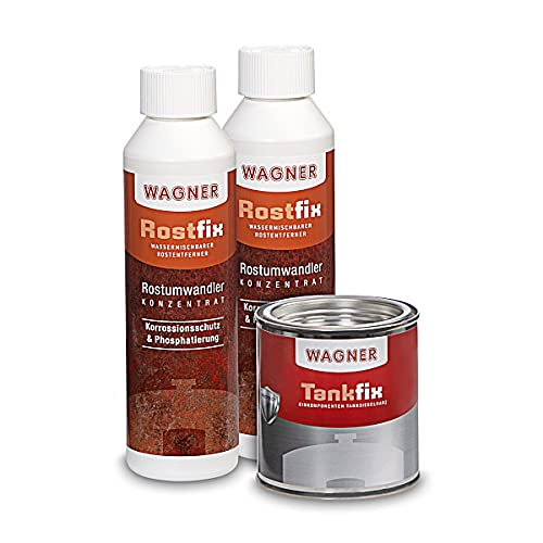 WAGNER Kit de traitement pour réservoirs de motos (Volume 30 Litres) - 071003