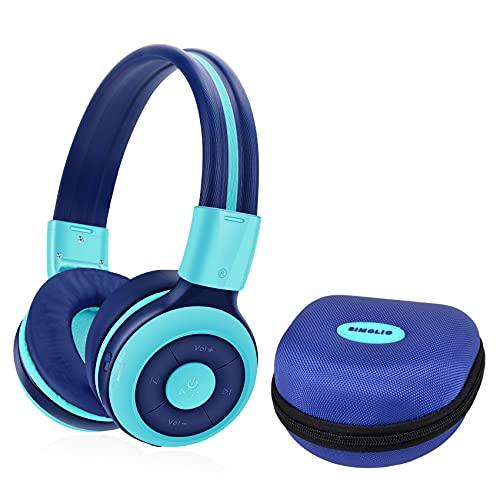 SIMOLIO Wireless kids Headphones with Volume Limited, Kids Headphones...