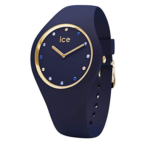 Ice-Watch - Ice Cosmos Blue Shades - Montre Bleue pour Femme avec Bracelet en Silicone - 016301 (Small)