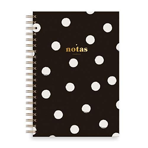Notitieboek L zwart