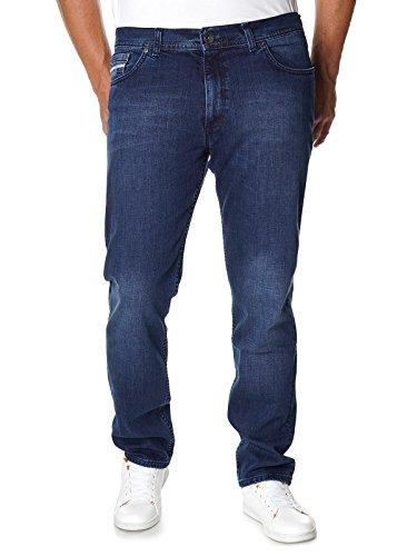 Stanley Denim Herren Jeans 22662 - Regular Fit, Blau - W34 L36