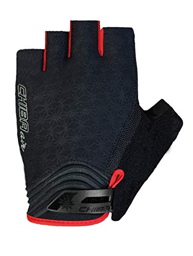 Chiba Unisex's Lady Air Glove, Black/Pink, Medium