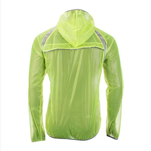 BESPORTBLE - Radsport-Jacken für Jungen in Grün, Größe 79X62X48CM