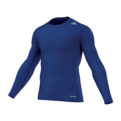 Adidas Tf Base Ls Maglietta Manica Lunga Uomo - Blu (Blu (Reauni)) - XL