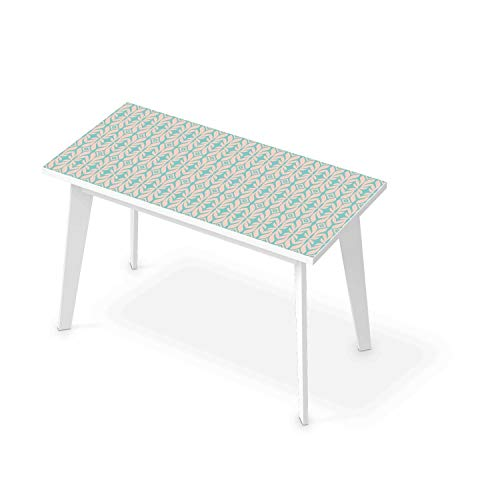 creatisto Art de tuiles Mural I Sticker Autocollant Table - Enjolivure de Dessus de Table Salon I Design Fleur I 120x60 cm