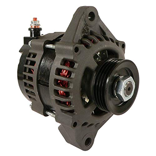 Alternator Compatible With/Replacement For Mercury Marine Outboard 4-Stroke 115Elpt Ef 115Exlpt Efi & Saltwater, Mercury Outboard 85 90 115 HP EFI 01 02 03 04 05 14 50-897755T, 897755T