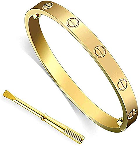 Drinkcomfort Love Bracelet(Gold,6.7