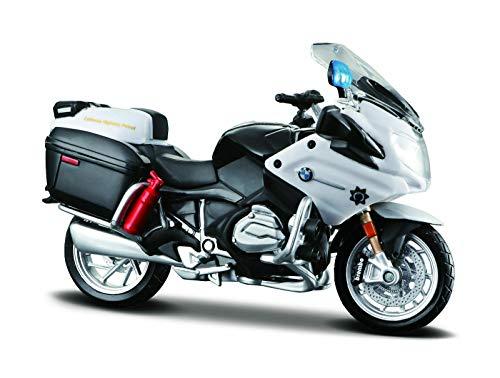 Maisto – 'POLICE' Yamaha FJR1300A (Blanco) Moto Troquelado Modelo Escala 1:18