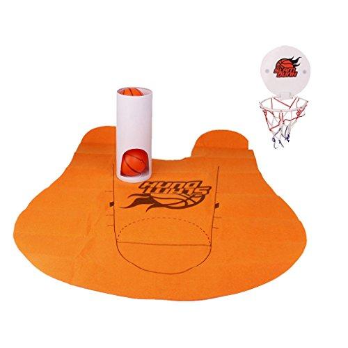 Gazechimp Miniature Slam Dunk Jeux de Toilettes Basket-ball Jouet Cadeau Enfant