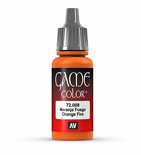 Vallejo Game Color 17 ml peinture acrylique – Orange Fire