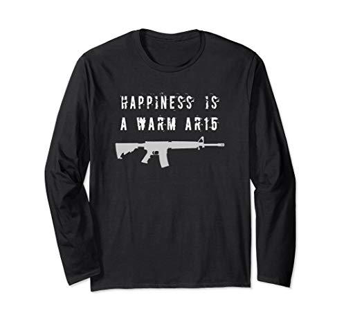 Gun, AR15, 2nd Amendment,Assault Rifle, Long Sleeve T-Shirt