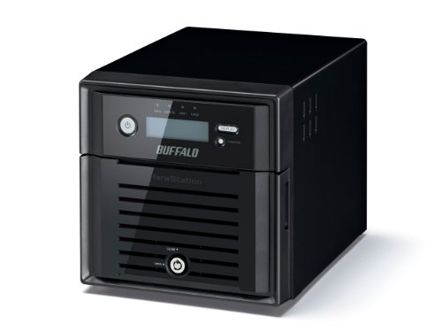 Buffalo TeraStation 5200 WD Red Server NAS (Raid 0/1/JBOD) nero