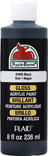 Black Craft Paint