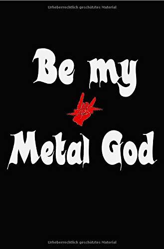 Lustig Heavy Metal Sprüche Notizbuch für Metal und Rock Fans punktiert dotted 68 Seiten: Bullet Journal Tagebuch Organizer Festivaltagebuch Konzertplaner Terminplaner Geschenk