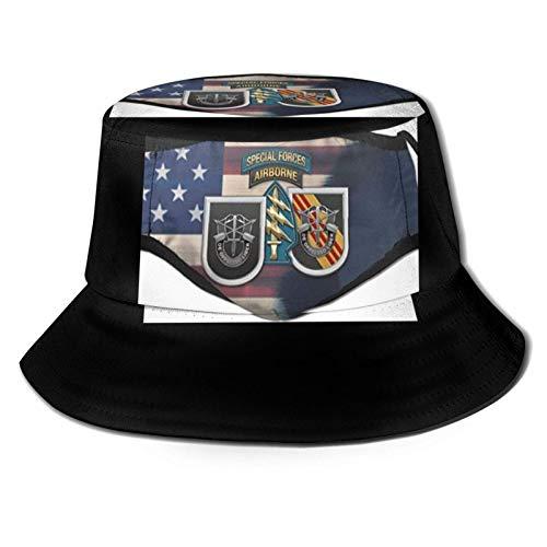Lawenp Qq & AElig; & circ; & ordf; & aring; & rsaquo; & frac34; 20201006162518 Sombrero de Pescador Unisex Plegable para Viajes de Verano Bucket Boonie Sombrero para el