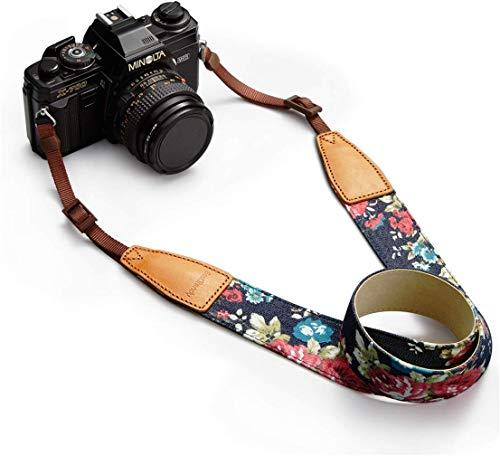 BestTrendy ユニバーサルカメラストラップ 一眼レフ/デジタル一眼レフ用 ニコン/キヤノン対応 マルチカラー