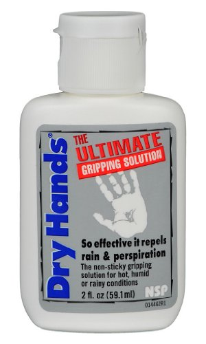 "Dry Hands ""The Ultimate Gripping Solution"" All-Sport Topical Lotion- 2 Ounce"